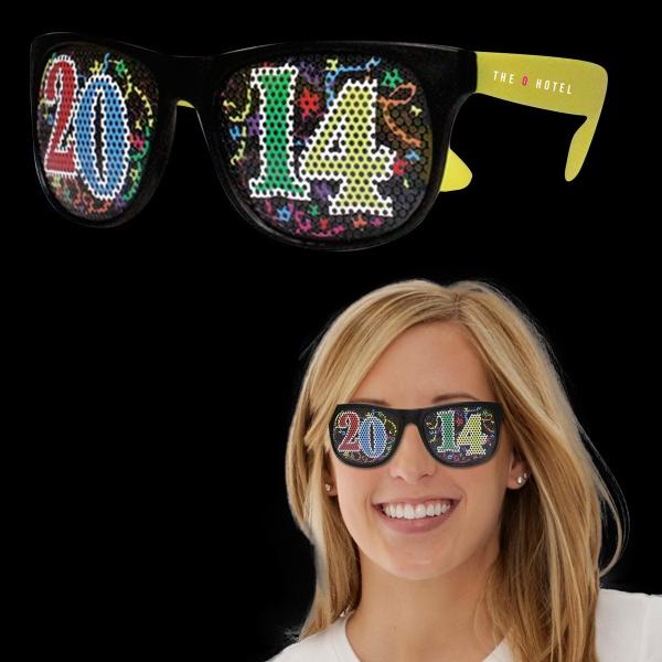 2014 Neon Yellow Billboard Sunglasses
