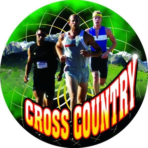 "2"" FULL COLOR Insert CROSS COUNTRY SKIING (Male) -"