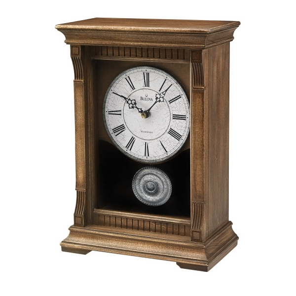 Bulova Warrick III Mantel Clock