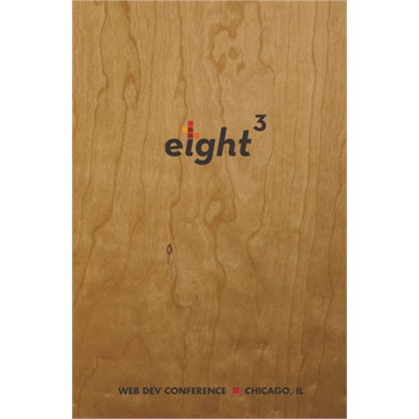 Wood Grain Flex Perfect Book - Seminar Pad