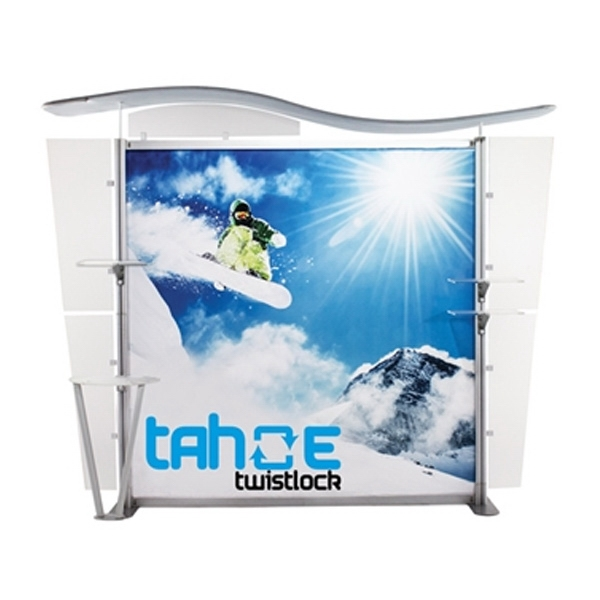 UltraPop 10ft X Graphic Package Tradeshow Display