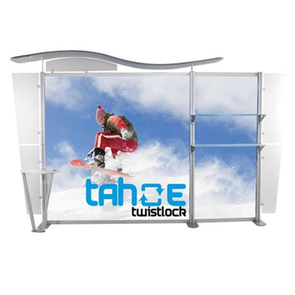 UltraPop 13ft Y Graphic Package Tradeshow Display
