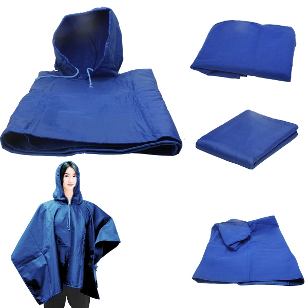 4 in 1 Blanket, Blue