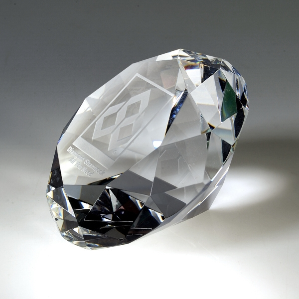 Award-Crystal Diamond 100 MM