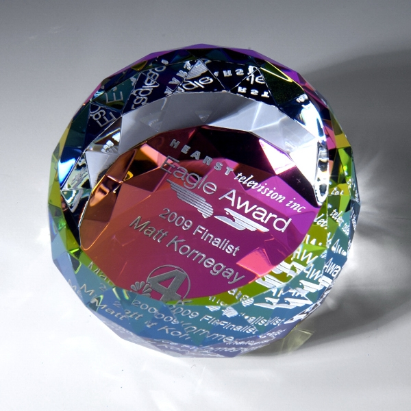 Award-Dome Paperweight