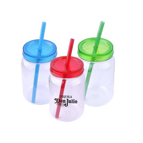 24 oz. Reusable Tumbler w/Straw