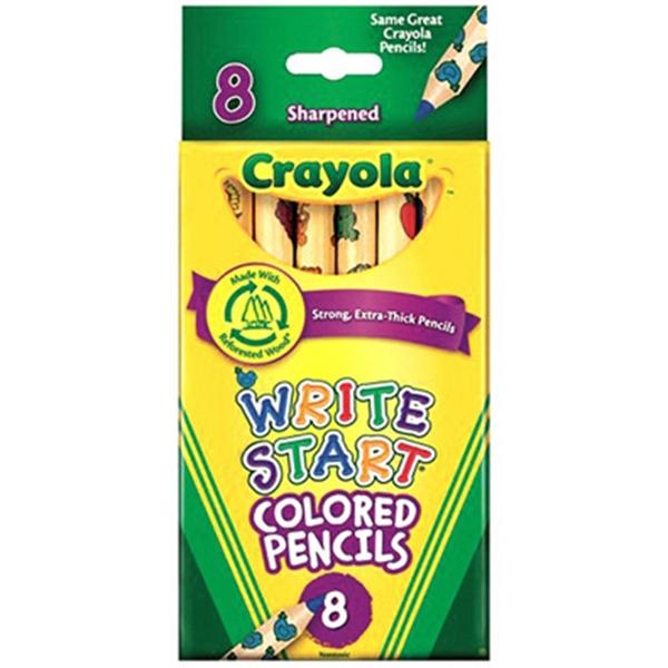 Crayola 8 ct. Write Start Colored Pencils