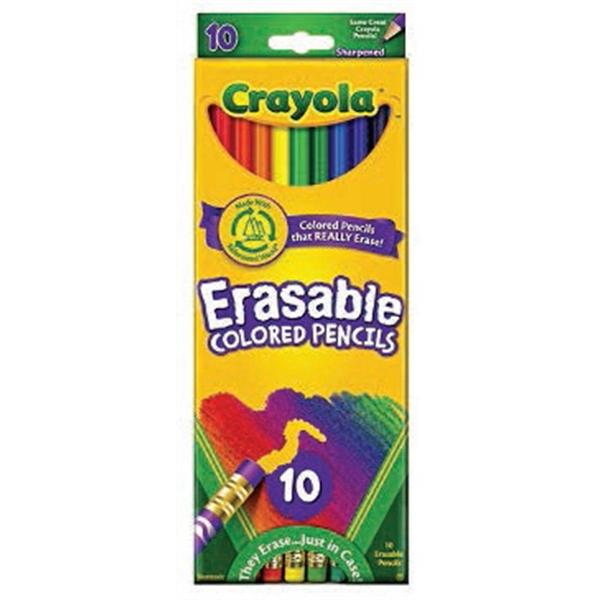 Crayola 10 ct. Erasable Colored Pencils