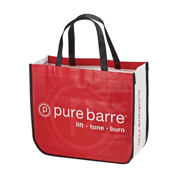 The curve laminate bag