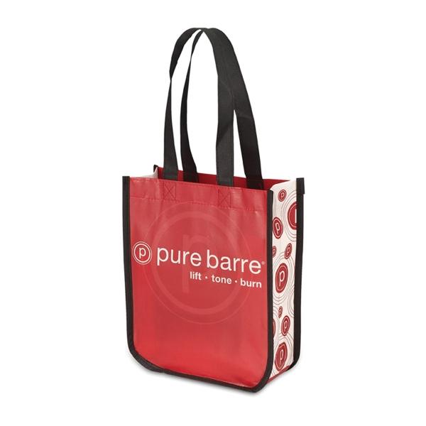 The Mini Curve Laminate Bag