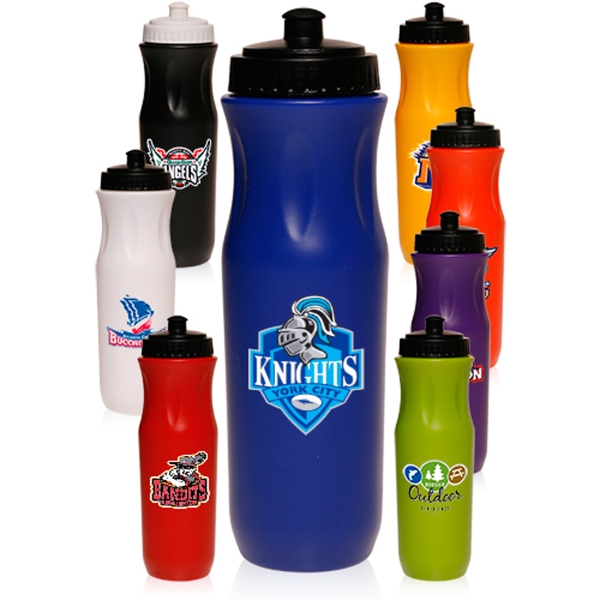 26 oz Plastic Sports Bottle
