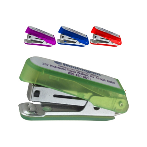 Mini pocket stapler with Staple Remover