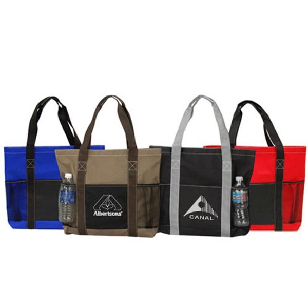 Poly Metro Traveler Tote Bag