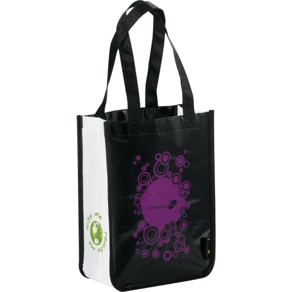Laminated Non-Woven Small Shopper Tote