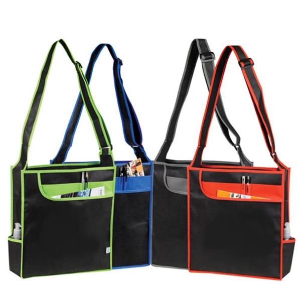 ECO Non Woven Multi-Pocket Tote Bag