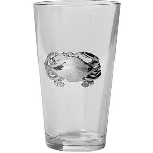 Crab Pint Glass