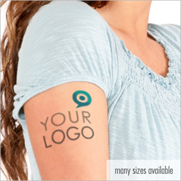 USA Made Custom Temporary Tattoos - Create your own custom temporary tattoo with any design, or customize one of our stock designs.