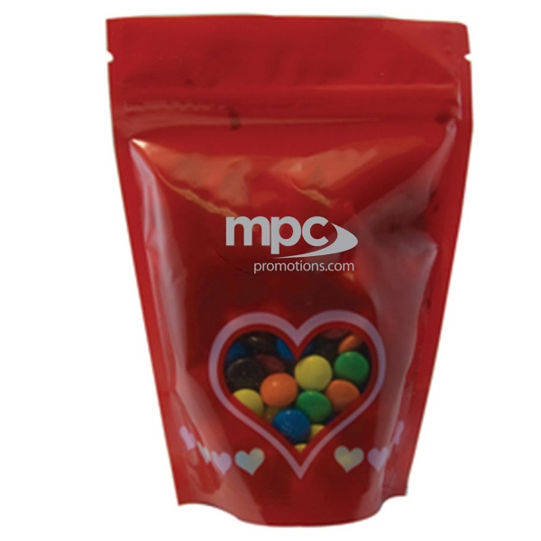 Large Window Bag with Compare to M&M®candy - Valentine