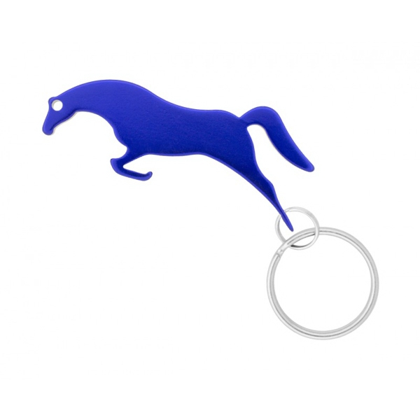 jumping horse key chain bottle opener. Black Bedroom Furniture Sets. Home Design Ideas