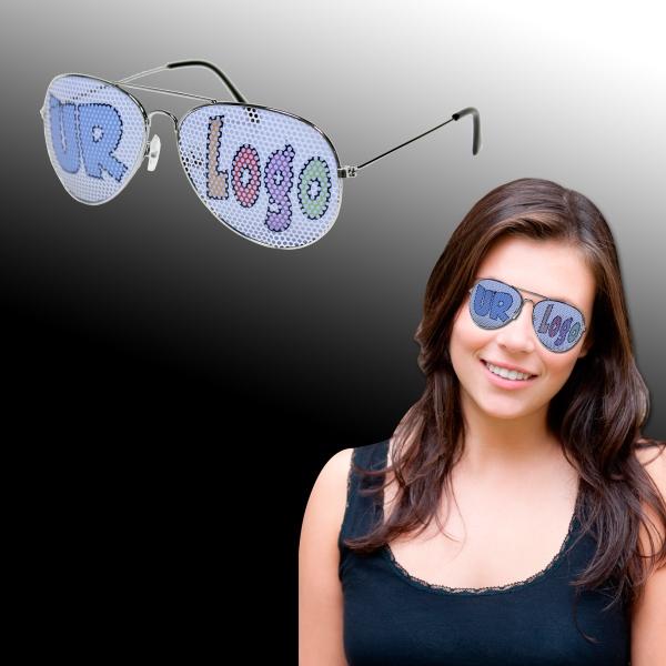 Metal Aviator Billboard Sunglasses