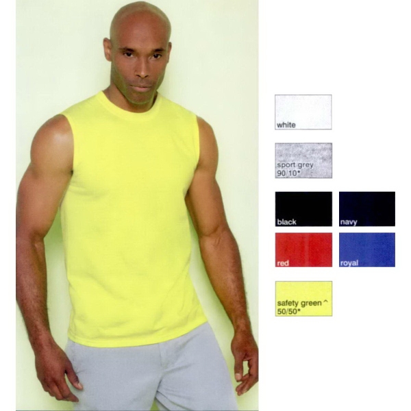 Ultra Cotton (R) Adult Sleeveless T-Shirt