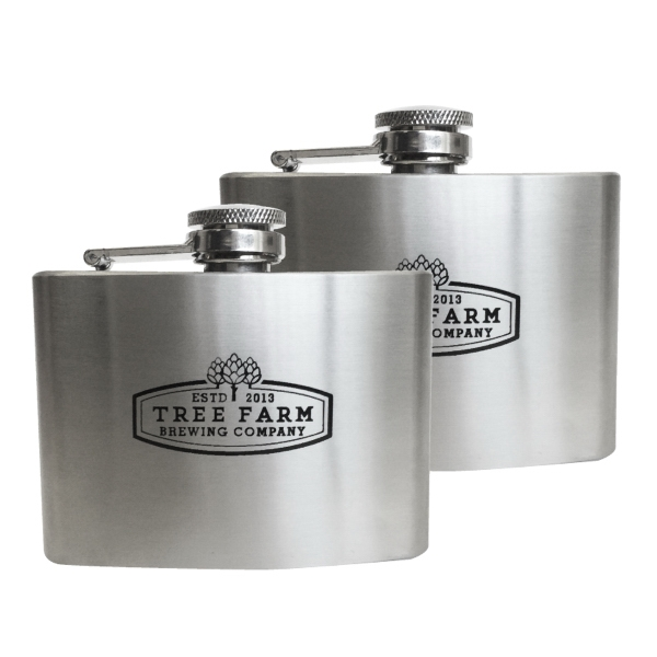 4 oz. Shorty Stainless Steel Hip Flask