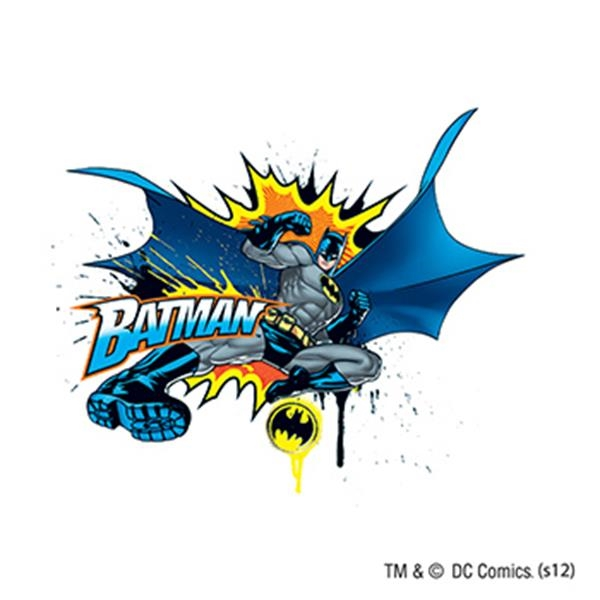 Warner Brothers: Batman in Action Temporary Tattoo - Warner Brothers: Batman in Action Temporary Tattoo