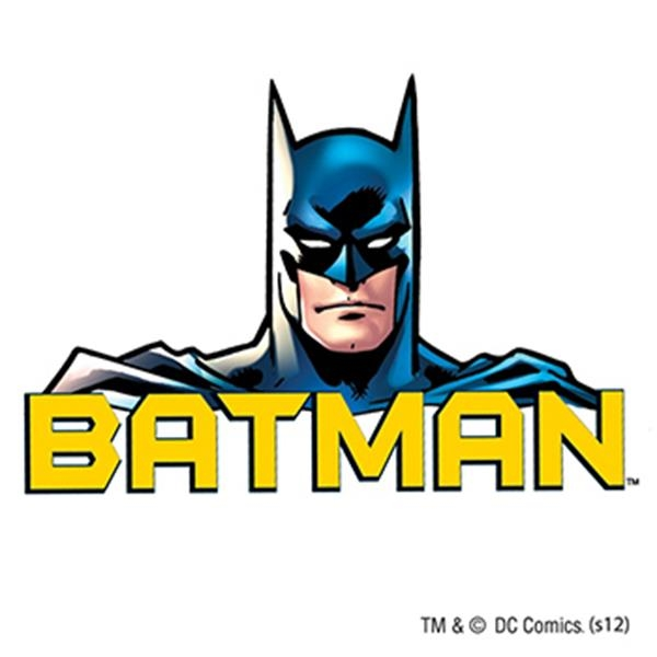 Warner Brothers: Batman Words Temporary Tattoo - Warner Brothers: Batman Words Temporary Tattoo
