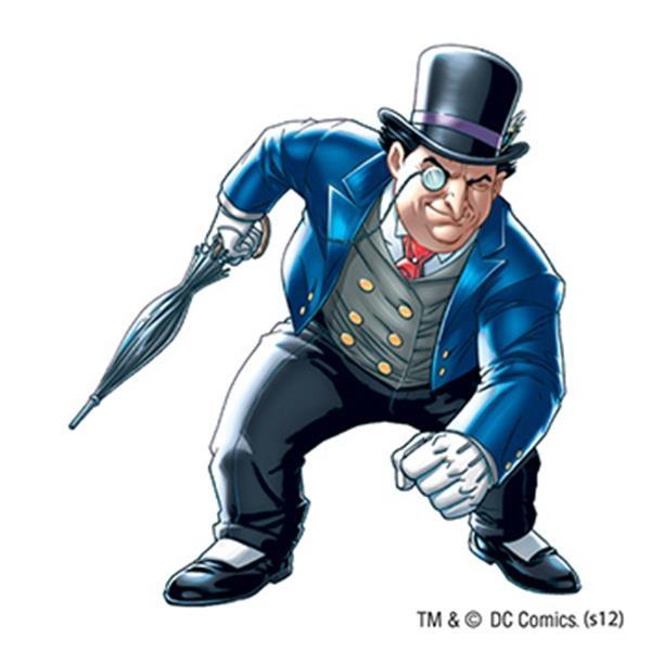 Warner Brothers: Penguin Temporary Tattoo - Warner Brothers: Penguin Temporary Tattoo
