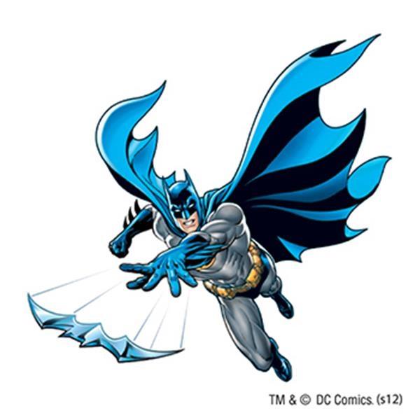 Warner Brothers: Batarang Temporary Tattoo - Warner Brothers: Batarang Temporary Tattoo