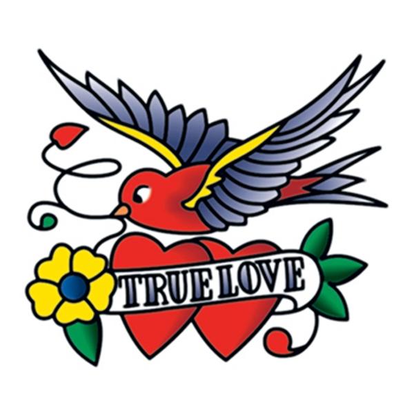 True Love Temporary Tattoo - True Love Temporary Tattoo