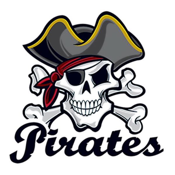 Pirates Temporary Tattoo