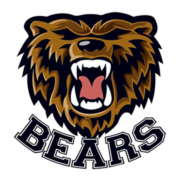 Bears Mascot Temporary Tattoo
