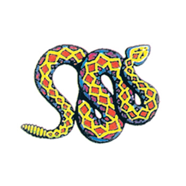 Rattlesnake Temporary Tattoo - Rattlesnake Temporary Tattoo