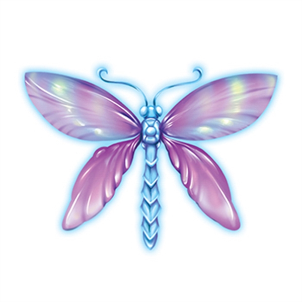 Magical Dragonfly Temporary Tattoo - Magical Dragonfly Temporary Tattoo