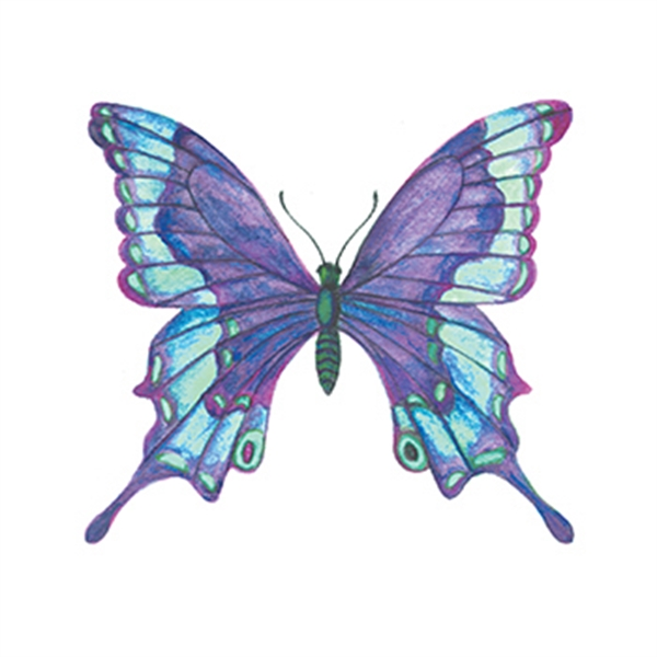 Butterfly Temporary Tattoo - Butterfly Temporary Tattoo