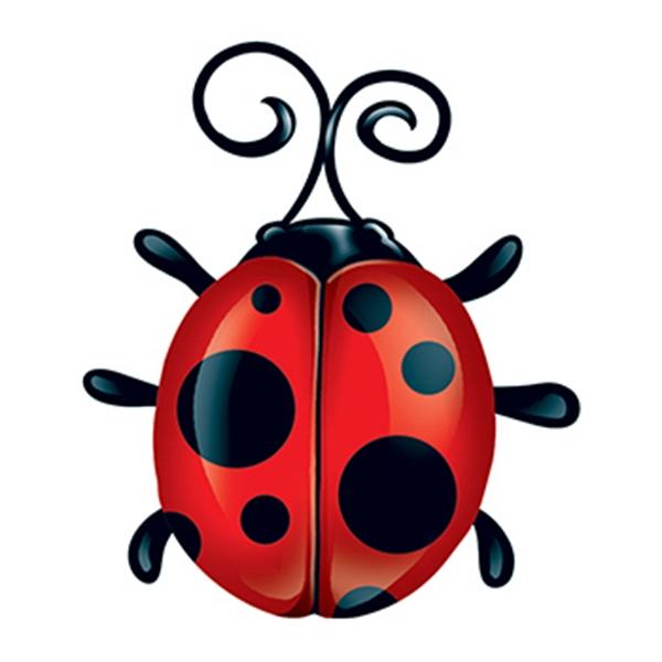 Ladybug Temporary Tattoo - Ladybug Temporary Tattoo