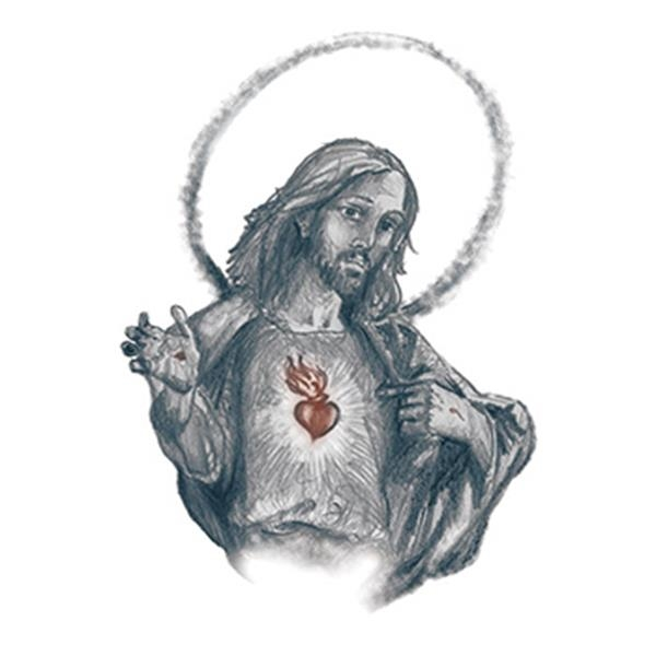 Jesus Temporary Tattoo - Jesus Temporary Tattoo