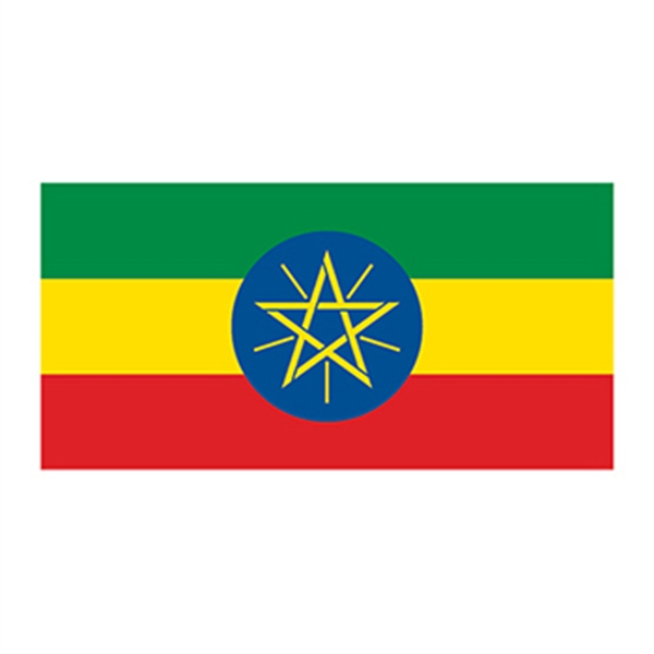 Flag of Ethiopia Temporary Tattoo - Flag of Ethiopia Temporary Tattoo