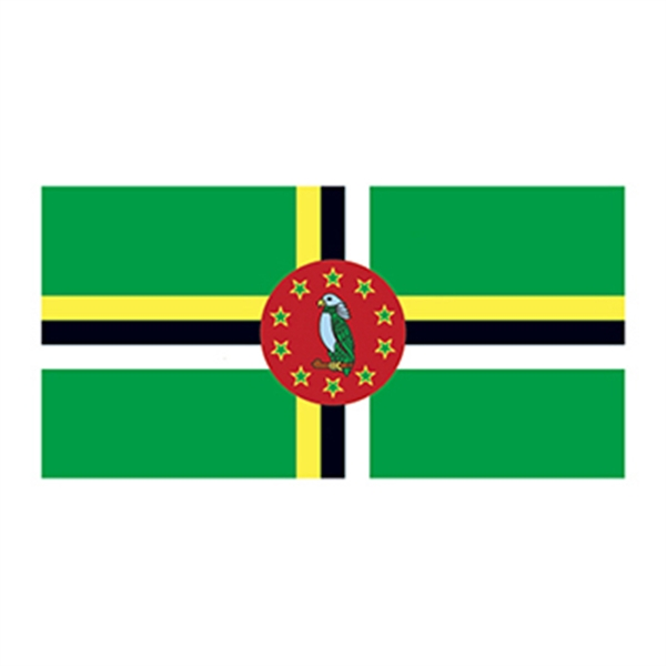 Flag of Dominica Temporary Tattoo - Flag of Dominica Temporary Tattoo