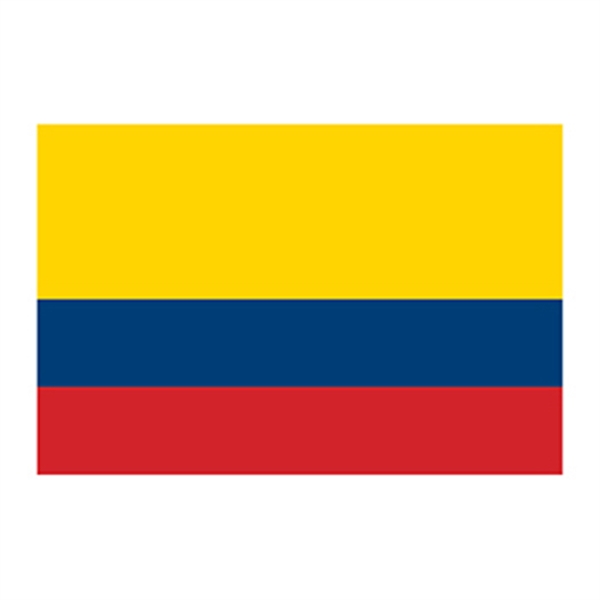Flag of Colombia Temporary Tattoo - Flag of Colombia Temporary Tattoo