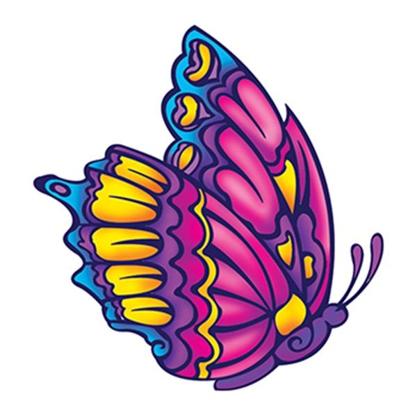 Beautiful Butterfly Temporary Tattoo - Beautiful Butterfly Temporary Tattoo