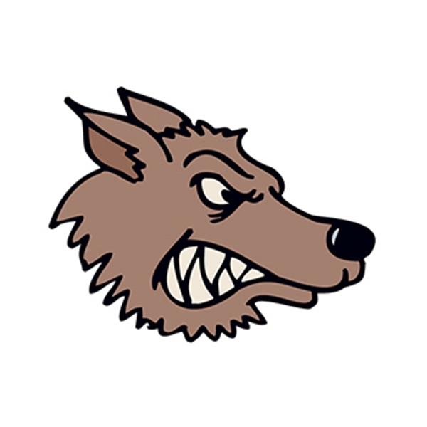 Snarling Wolf Temporary Tattoo - Snarling Wolf Temporary Tattoo