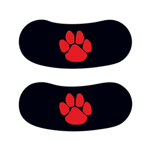Red Paw Eyeblack Temporary Tattoo - Red Paw Eyeblack Temporary Tattoo