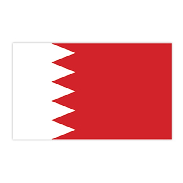 Flag of Bahrain Temporary Tattoo - Flag of Bahrain Temporary Tattoo