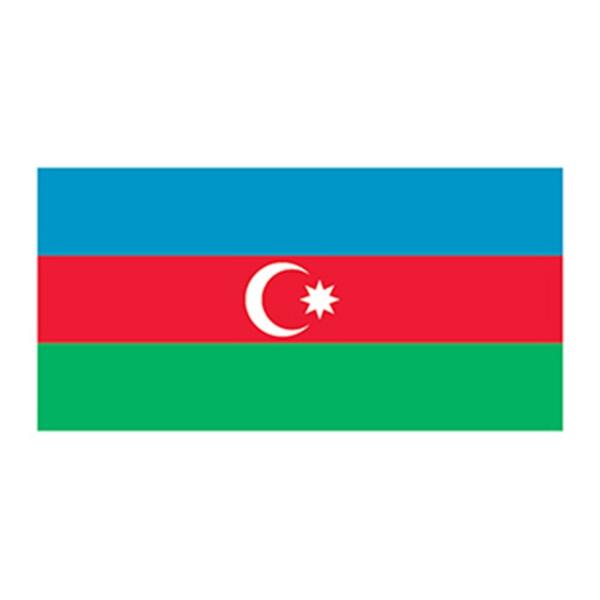 Flag of Azerbaijan Temporary Tattoo - Flag of Azerbaijan Temporary Tattoo