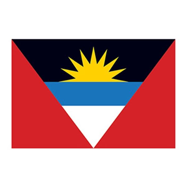 Flag of Antigua and Barbuda Temporary Tattoo - Flag of Antigua and Barbuda Temporary Tattoo