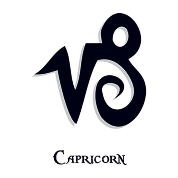 Zodiac: Capricorn Temporary Tattoo - Zodiac: Capricorn Temporary Tattoo