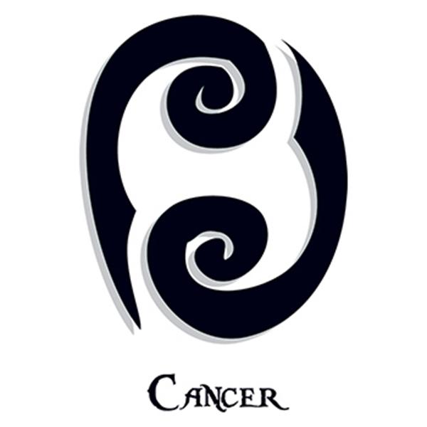 Zodiac: Cancer Temporary Tattoo - Zodiac: Cancer Temporary Tattoo