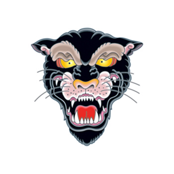 Vintage Panther Temporary Tattoo - Vintage Panther Temporary Tattoo